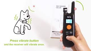 How To Use DogCare Dog Training Collar TC-01