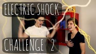 Electric Shock Challenge With MARCUS BUTLER! | ThatcherJoe