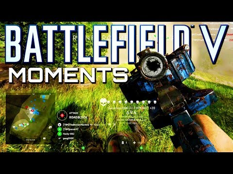 Battlefield 5: Epic Aggressive Plays! (Battlefield V Multiplayer Gameplay)