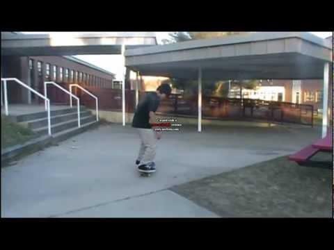 Esinhower Courtyard Skate Montage (lost clips).