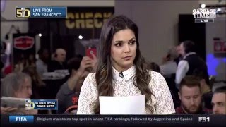 """Jeff Goldblum Accuses Katie Nolan Of """"Trying To Humiliate Him Through Condescension?"""""""