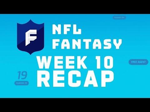 Week 10 Fantasy Recap | NFL Fantasy Live Podcast