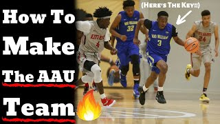 Tips For AAU Tryouts - HOW TO MAKE THE BASKETBALL TEAM