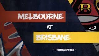 REPLAY: Melbourne Aces @ Brisbane Bandits, R8/G1