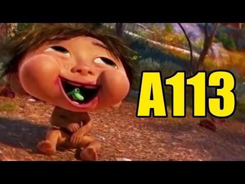 ¿Sabes Donde Esta El A113 En The Good Dinosaur (El Viaje De Arlo) (Pixar)?