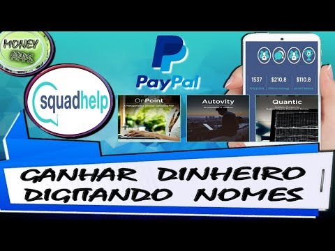 Ganhe Até $500 Dólares No Paypal Digitando Nomes - Squadhelp