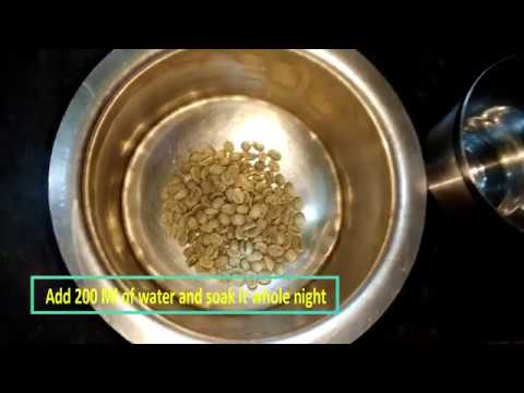 how to make Green coffee with un roasted beans in two procedures