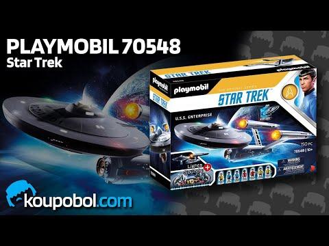 Vidéo PLAYMOBIL Star Trek 70548 : U.S.S. Enterprise NCC-1701