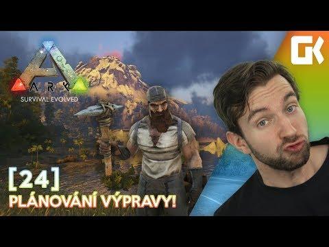 PLÁNOVÁNÍ VÝPRAVY! | Ark Survival Evolved #24