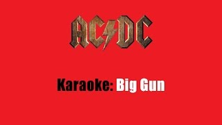 Karaoke: AC/DC / Big Gun