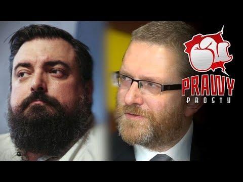 """TYLKO U NAS! Grzegorz Braun o filmie Sekielskiego. """"Prawy prosty"""" zaprasza!"""