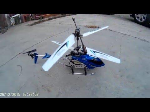 Elicottero telecomandato THE CROW volo invernale