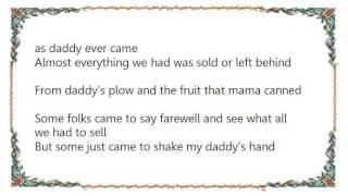 Dallas Frazier - California Cottonfields Lyrics