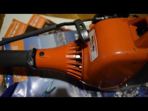 Oleo-Mac Sparta 25. Очередной ремонт семилетней бензокосы