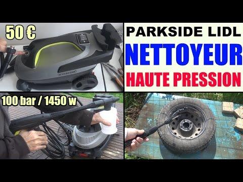 nettoyeur haute pression parkside phd 100 lidl d2 e2 pressure washer hochdruckreiniger