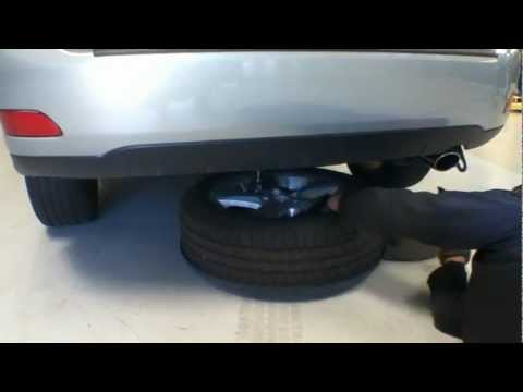 How to access the RX350 spare tire - Lexus of Pleasanton
