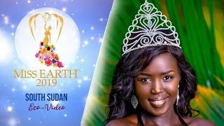 Asara Bullen Panchol Miss Earth South Sudan 2019 Eco Video