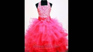 2014 Little Girl Pageant Dresses
