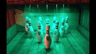 This Guy Livened Up His Backyard By Building A Bowling Alley In It