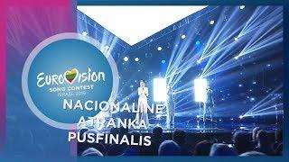 """Monika Marija – """"Light On"""" - Nacionalinė Eurovizijos atranka   Pusfinalis"""
