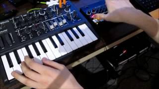Giorgio by Moroder (Daft Punk) Theme on Arturia Microbrute + Korg Volca Beats