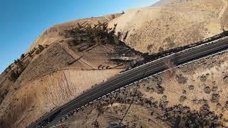 DJI FPV drone mountain flight Reno