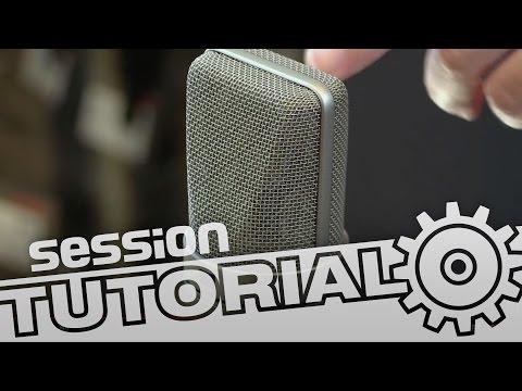 session Tutorial: Mikrofonauswahl - Welcher Mikrofontyp für welche Anwendung?