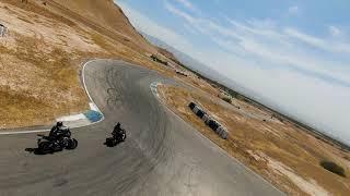 DJI fpv on motorcycle race track