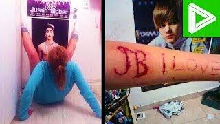 10 INSANE Justin Bieber Fans You Won't Believe Exist!