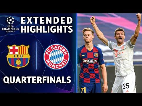 Barcelona vs. Bayern Munich   Champions League Quarterfinal Highlights   UCL on CBS Sports