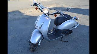 Honda Joker популярный ретро скутер
