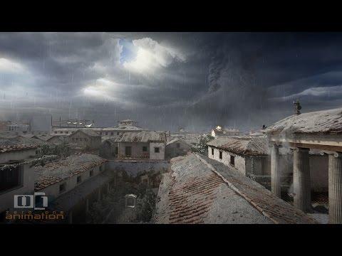 Este Video Muestra Las Últimas Horas De Pompeya