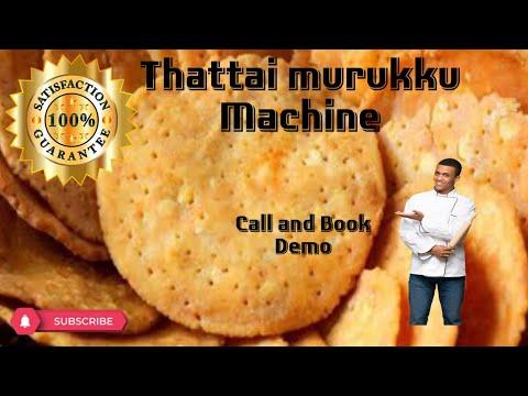 Nippattu Thattai Making Machine