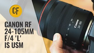 Canon RF 24-105mm f/4 L IS USM lens review with samples