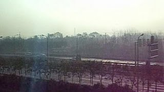 preview picture of video 'Shanghai Maglev Train, SMT, Shanghai Pudong Airport, Shanghai, China, Asia'