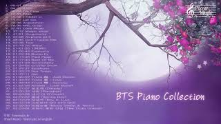 BTS Piano Collection for Studying and Sleeping / Study Music Sleep Music