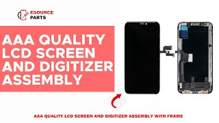 Apple iPhone XS LCD Screen & Digitizer Assembly with Frame Part Review
