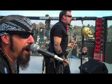 American Nightmare - Official Music Video - Death Alley Motor Cult - Jason Von Flue - Heavy Metal