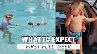 ISR Infant Self Rescue Survival Swim | First Full Week Tips + Details | One Year Old Swim Lesson