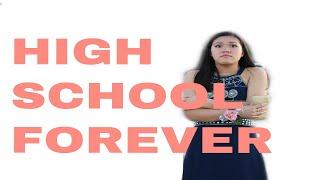 Trying On All My High School Dance Dresses || Quarantine Fun