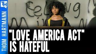Hawley & White Supremacist Buddies Wrote 'Love America Act'