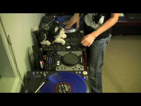 DJ Ravine Scratching up Barking Dog Man