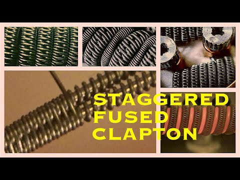How to Build A Staggered Fused Clapton Coil the Easy Way