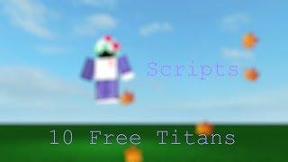 Void Script Builder Show Case : Berserker Eren Titan (ROBLOX) - Дом