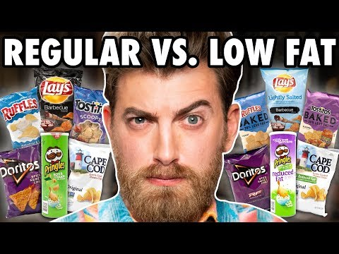 Download Low Fat vs. Regular Chips Taste Test HD Mp4 3GP Video and MP3
