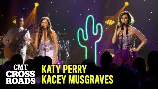 Katy Perry & Kacey Musgraves Perform 'Here You Come Again' | CMT Crossroads