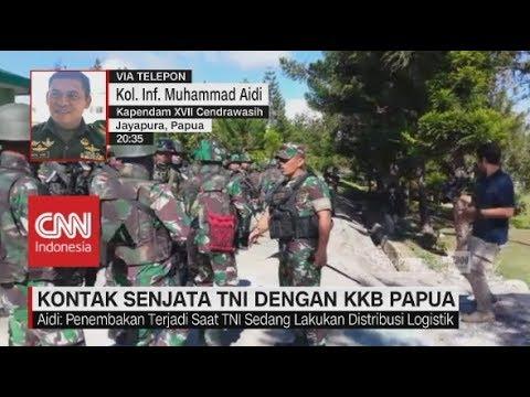 Kontak Senjata dengan KKB Papua, Satu Prajurit TNI Tewas Tertembak