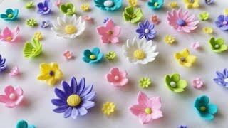 Basic Sugar Flowers Tutorial In Urdu - Baking With Amna
