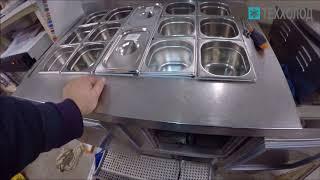 Диагностика холодильных витрин для хранения салатов