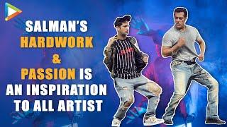"""This is Salman Khan's Most ENERGETIC rehearsal ever"": Mudassar | Dabangg Reloaded Dubai Hungama"